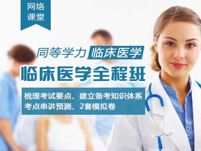 【网络】2018年同等学力临床医学-全程班