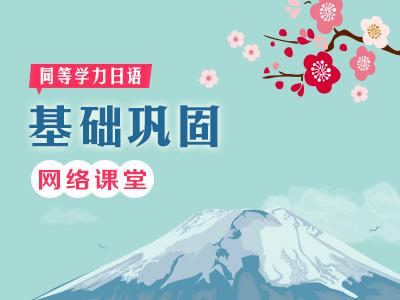 【网络】2020年同等学力日语-基础巩固