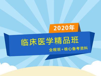 2020年同等学力临床医学精品班