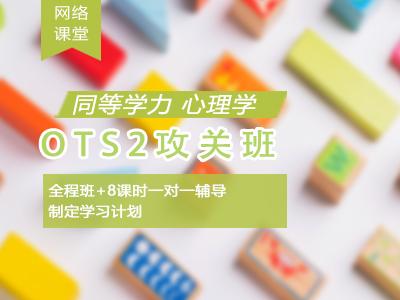 2021年同等学力心理学-OTS2攻关班