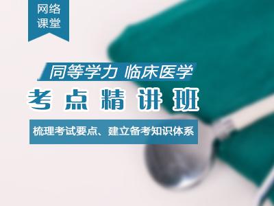 2021年同等学力临床医学-考点精讲班(网络)